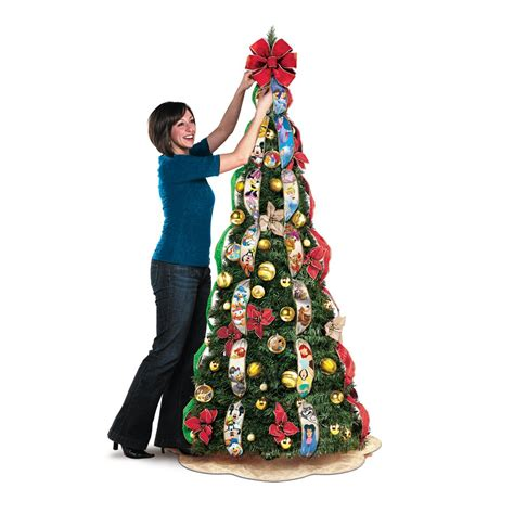 ultimate disney 6 1 2 pre lit pull up christmas tree