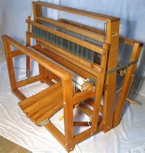 my leclerc 4 harness floor loom weaving