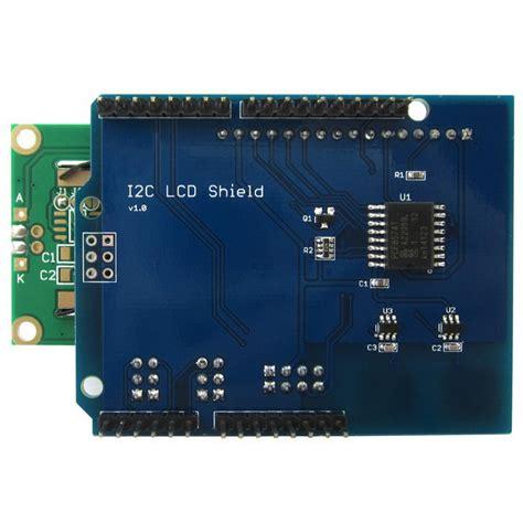 Lcd U2 i2c lcd 1602 module d affichage de blindage pour arduino uno mega2560 envoie gratuit