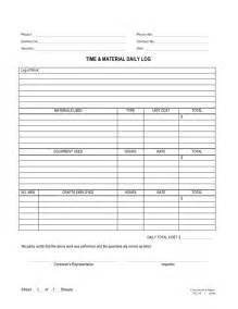 material template doc 460595 time and materials contract template time