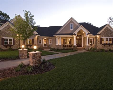 traditional style house plans ranch conversion with painted brick houses pinterest