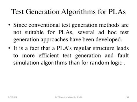 test pattern generation using boolean satisfiability pla minimization testing