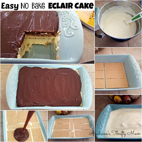 16 Ingredients And Directions Of Easy No Bake Cheesecake by Easy No Bake Eclair Cake