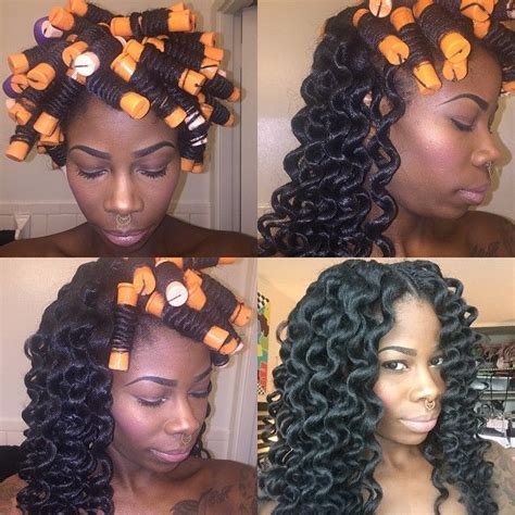 how to perm rod crochet hair 194 best crochet braids images on pinterest protective