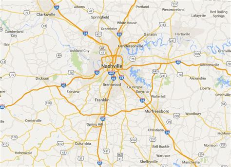 middle tn map market distribution of real estate magazine real