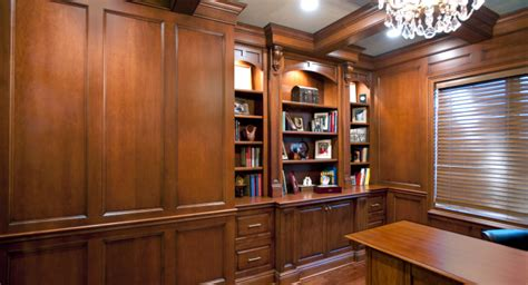 home office design review panel wall panels custom cabinetry by ken leech