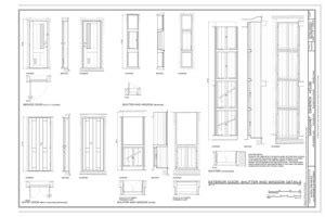 sections margaret esherick house 204 sunrise lane file elevations margaret esherick house 204 sunrise