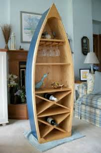 boat bookshelves 6 ft boat wine rack glass holder bookcase shelf canoe