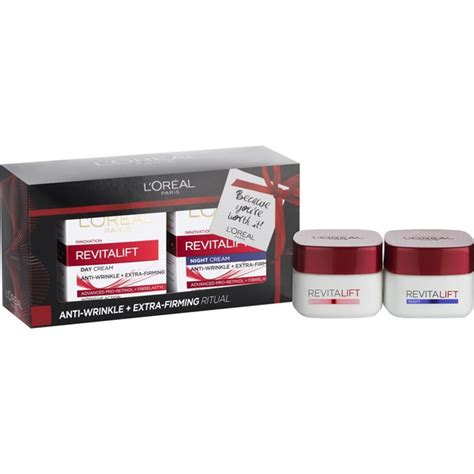 Loreal Day And l oreal revitalift day and gift set free