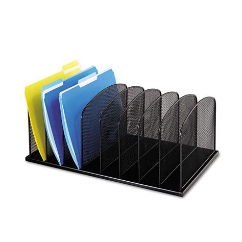 Safco Mesh Desktop File Organizer Saf3253bl Ebay Desk Top File Organizer