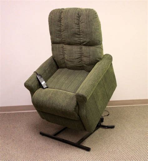 recliner chairs parts power lift recliner in sage green microfiberlazy boy