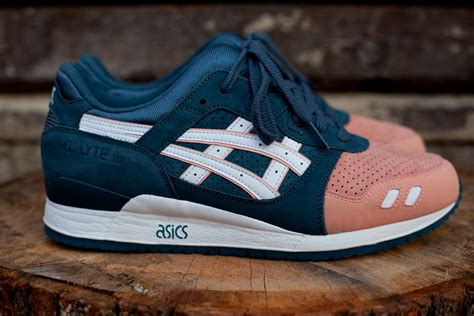 Sepatu Asics Gel Lyte Iii X Ronnie Fieg Premium Quality ronnie fieg x asics gel lyte iii quot salmon toe quot now available sneakerfiles