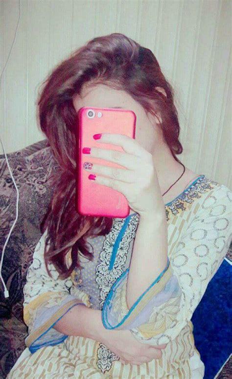 hidden face girls image girl hidden face with mobile dp 145 dp for fb