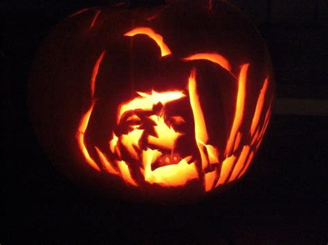 freddy krueger pumpkin by akaoskar on deviantart