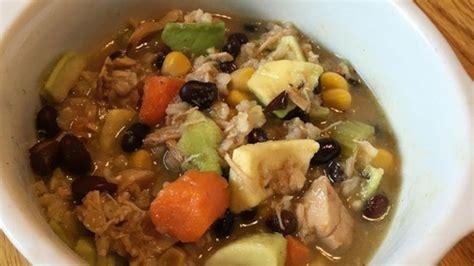 chicken  brown rice soup recipe allrecipescom