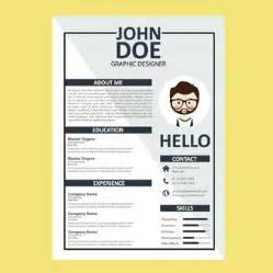 free curriculum vitae template cv template vectors photos and psd files free