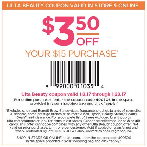 printable coupons nautica outlet ulta in store printable coupon 2018 wilderness