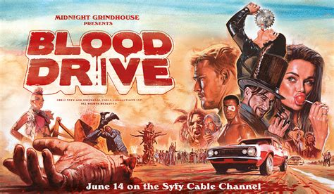 blood run caldridge series books blood drive season one ratings canceled tv shows tv