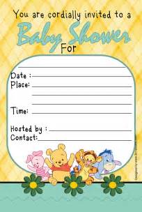 winnie the pooh baby shower invitation 3in1 events more quot store quot