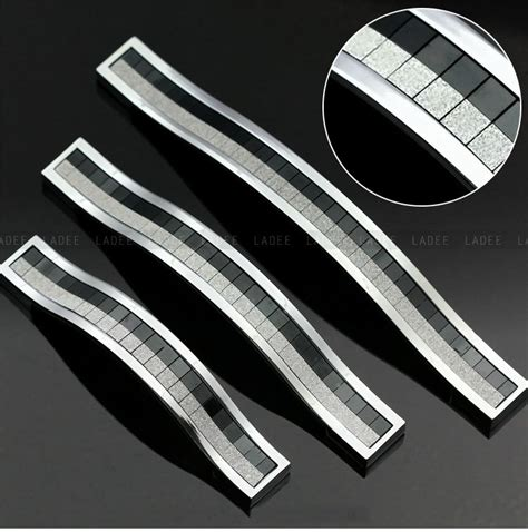 10pcs modern kitchen cabinet handles and drawer pulls c c