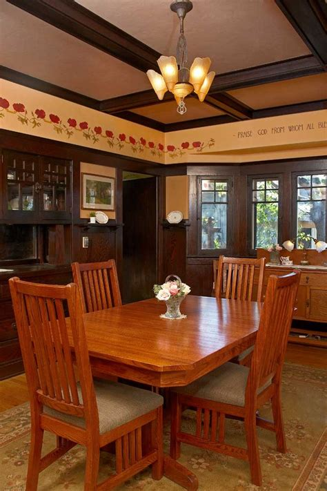 Craftsman Style Lighting Dining Room 237 Best Images About Craftsman Dining Rooms On Pinterest Craftsman Style Arts Crafts And