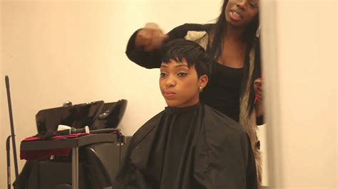 full head weave short hairstyles honeyhand full head short weave no leave out youtube