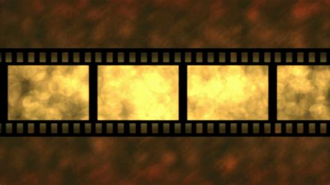 background film movie film particle background animation loop golden