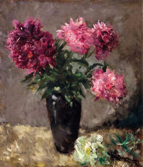 peonie in vaso e morino vaso di fiori mazzo di peonie