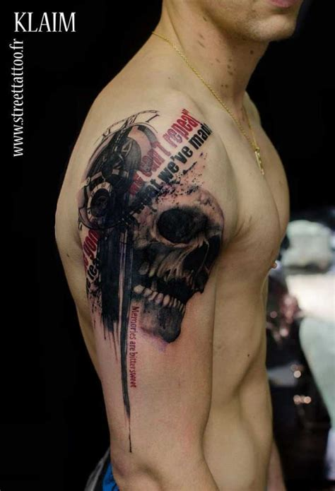 creative tattoo digital graphic turned into creative designs by