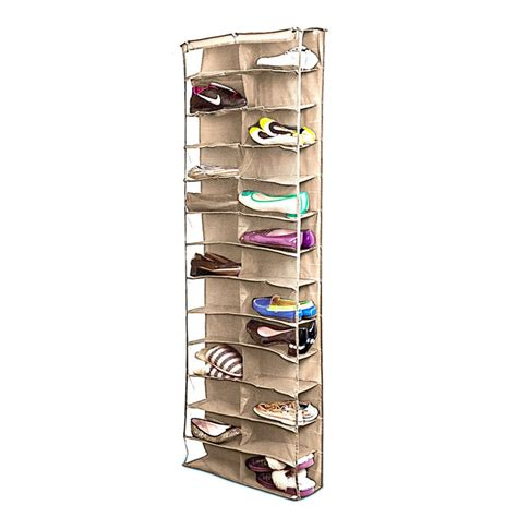 shoe hanging storage shoe rack storage organizer holder folding hanging door