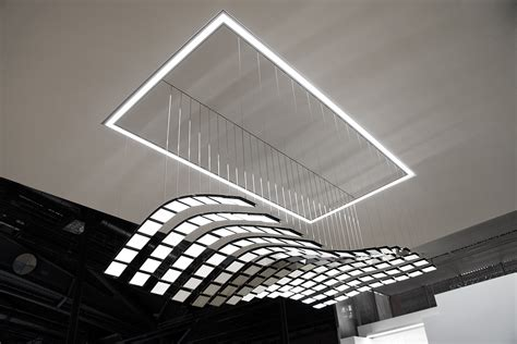 A New Experience of Light for Interiors: Selux Manta Rhei Freshome.com