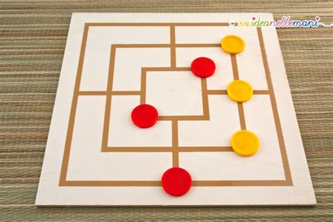 filetto gioco da tavolo giochi per bambini da costruire in casa la dama fai da te