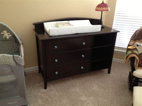 changing table and dresser crafted dresser changing table for baby by tom s