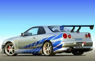 Brian o conner s nissan skyline r34 gt r 2 fast 2 furious auto