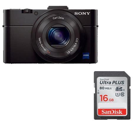 Memory Card Kamera Digital Sony sony cyber dsc rx100 ii high performance compact memory card bundle deals pc world