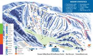 western canada ski resorts map canaan valley resort trail map