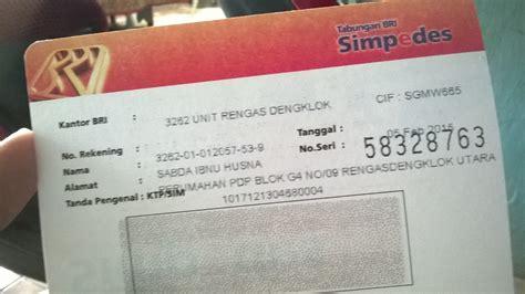 cara membuat rekening mandiri pelajar cara membuat rekening visa bri cara mengetahui nomor