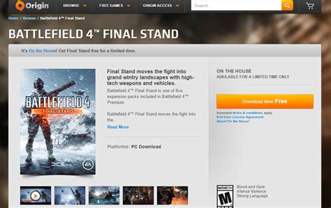 origin on the house origin on the house battlefield 4 final stand expansion pack free simsvip