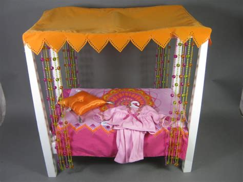 american girl julie bed american girl julie doll canopy bed 70 s retro with