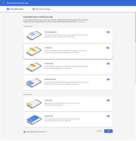 adsense settings easy google adsense plugin for wordpress noor s plugin