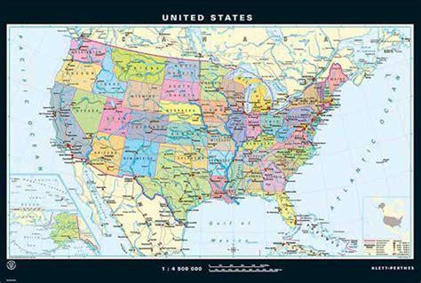 carte des etats unis au recto  map  usa