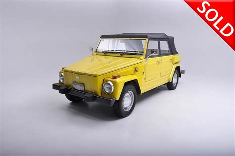 1974 volkswagen thing type 1974 volkswagen thing stock 197401 for sale near new