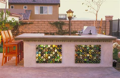 Outdoor Home Bar California Garden Artist Creates Stunning Water Features