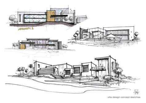 sketch your out a skill and style guide books villa design concept sketches atelier2 sketching