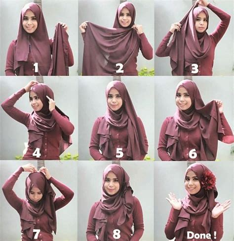 tutorial hijab queenova 1000 images about tutorials hijab on pinterest simple