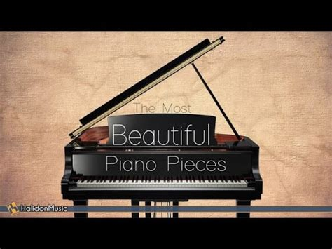 27 Top Must Classic Pieces by The Most Beautiful Piano Pieces Classical Bach