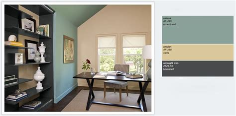 diy list office ideas home office colors blue