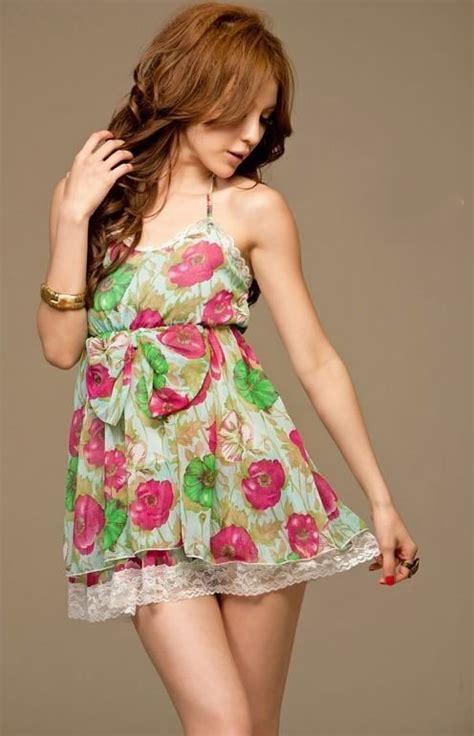 Dress Bunga Tipis trend dress motif bunga bunga floral dress sidrap gaul