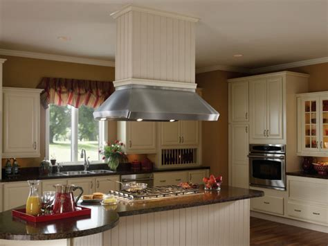 island kitchen hoods best range hoods centro island with drywall finish trim kit traditional kitchen