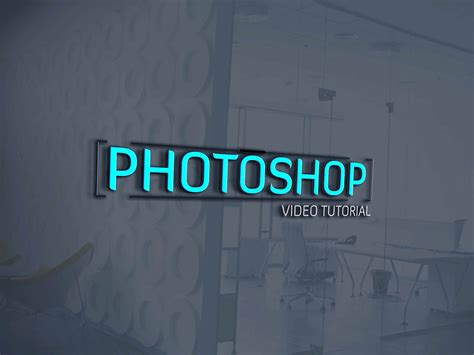 glass logo design photoshop top 10 latest mock up for any designer